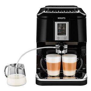 Krups EA8808 Autonome Entièrement automatique Machine à expresso 1.7L Noir machine à café, Machine à café/Espresso