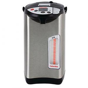 Caterlite Ballon d'eau chaude électrique 5 réglages de température et minuterie