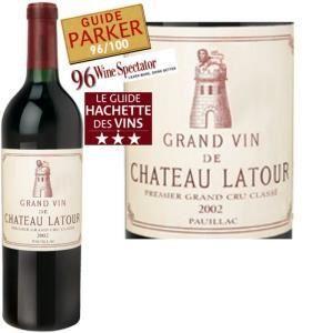 Château Latour 2002 - Grand vin rouge de Bordeaux (AOC Pauillac)