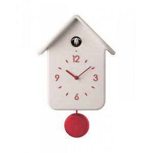 Guzzini Horloge à coucou blanche