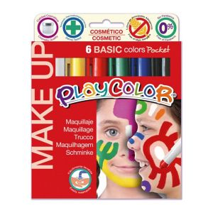 Instant Educa 6 sticks de maquillage PlayColor - Pocket basic