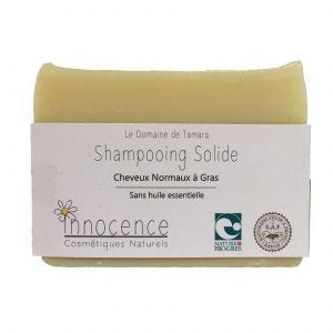 Le Domaine de Tamara Savon Shampoing Solide - Cheveux Normaux à Gras - Sans Huile Essentielle