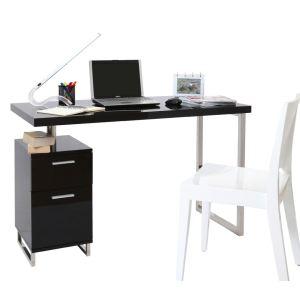 Miliboo Bureau design Lexi 2 tiroirs