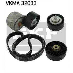 SKF Kit de courroies d'accessoires VKMA32033