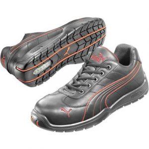 Puma Safety 642620 Chaussure de sécurité Taille noir rouge