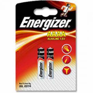 Energizer AAAA Alkaline x2  1,5V