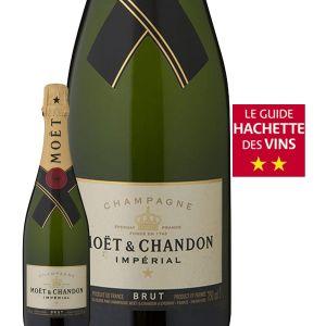Moët & Chandon Champagne AOP, brut - La bouteille de 75cl