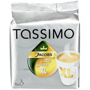 Tassimo 16 dosettes T-Discs Caffe Crema XL
