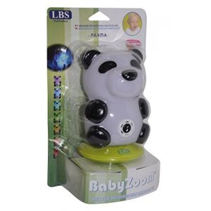 LBS medical Veilleuse rechargeable musicale Baby Zoo Panda