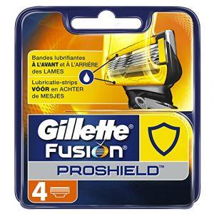 Gillette Fusion Proshield - 4 lames de rasoir