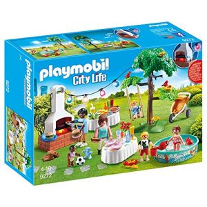 Playmobil 9272 - City Life : famille et barbecue