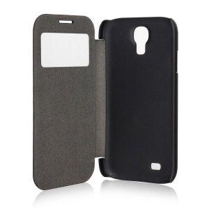 Xqisit Etui Folio Window Flap Samsung Galaxy S4 I9500 Noir