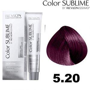 Revlon Color Sublime by issimo, 75 ml, couleur : 5,20 châtain clair, violet intense