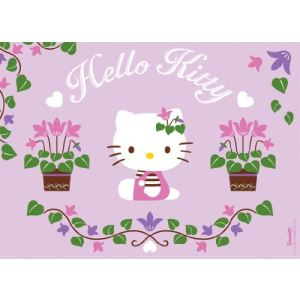 Ravensburger Puzzle Hello Kitty jardine 100 pièces