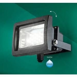 Globo Lighting Projecteur de façade Globo RADIATOR III LED Anthracite, 1 lumière Extérieur - III