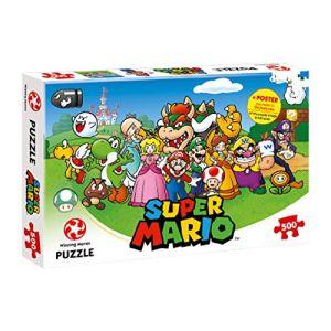 Winning Moves Super Mario et ses amis - Puzzle 500 pièces