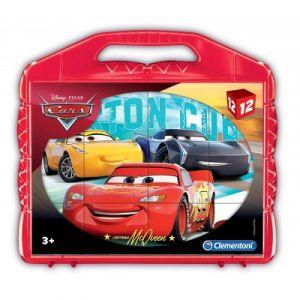 Clementoni Puzzle cubes Cars 12 pièces