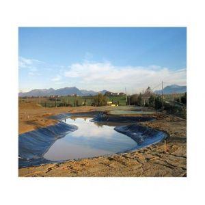 Atout Loisir Bâche de bassin 350 microns noir, Longueur 7 m, Largeur 5 m