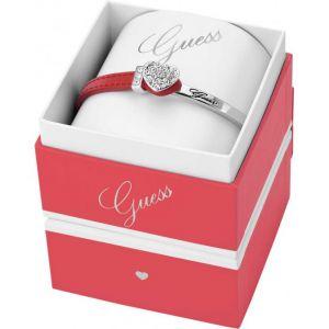 Guess UBS21302 - Bracelet en cuir et métal pour femme