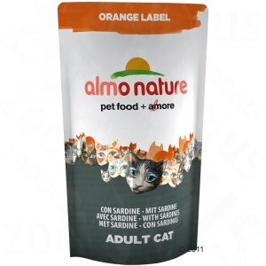 Almo Nature Orange Label Adult sardines pour chat 5 x 750 g
