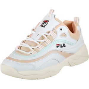 FILA Ray Low Wmn - Baskets Femme, Beige