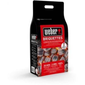 Weber Briquette charbon - 4 kg de briquettes