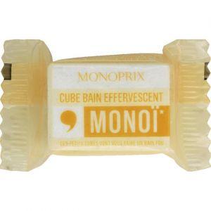 Monoprix Cube bain effervescent monoï