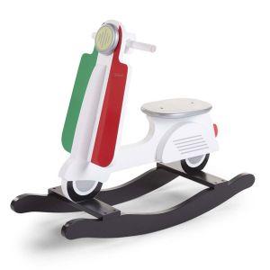 Childhome Scooter à bascule enfant bois Italy