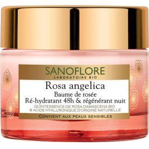 Sanoflore Rosa Angelica - Baume de rosée nuit