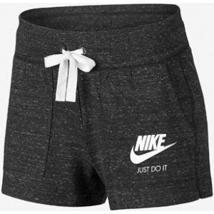 Nike Sportswear Gym Vintage Short Femme, Black/Sail, FR : M (Taille Fabricant : M)