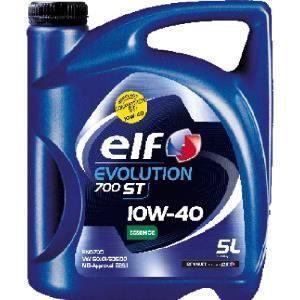 Elf Huile moteur Evolution 700 ST 10W40 essence 5 L