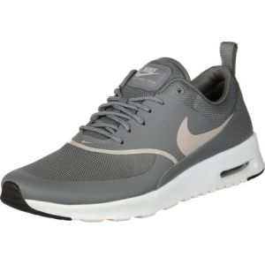 Nike Air Max Thea, Baskets Femme, Noir (Gun Smoke/Particle Rose-Black 029), 36.5 EU
