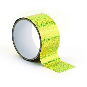 Graine Créative Ruban adhésif décoratif Queen Tape 48 mm x 8 m Or