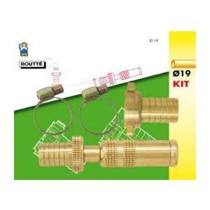 Image de Boutté 0801596 - Kit d'arrosage 3 pièces pour tuyau Ø19