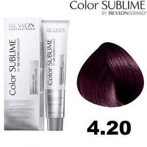 Revlon – Color Sublime by issimo – 75 ml – Couleur : 4.20 châtain violet intense