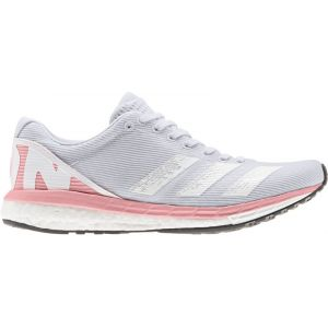 Adidas Adizero Boston 8 Chaussures Femme, dash grey/footwear white/glory pink UK 6 | EU 39 1/3 Chaussures running sur route