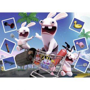Nathan Lapins Crétins Course folle - Puzzle 60 pièces