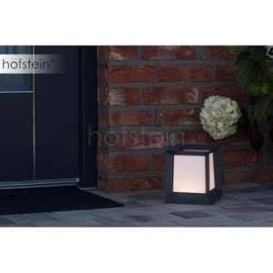 AEG Borne KUBUS LED Anthracite, Blanc, 1 lumière - Moderne - Extérieur - Kubus