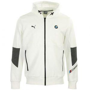 Puma Sport - Bmw mms hooded sweat jacket - Blanc S