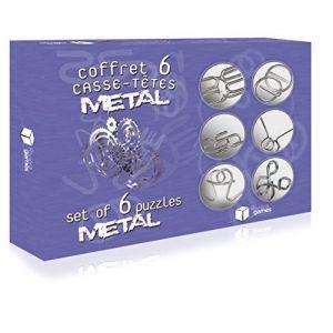 Riviera Games Coffret 6 casse-têtes métal