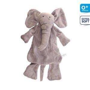 Difrax Peluche soft petit éléphant Elliot