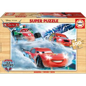 Educa Puzzle Cars Ice Racers 100 pièces