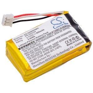 GoPro Batterie Li-Polymer 3,7v 800mAh / 2.96Wh type PR-062334 DZ-BP28 pour CHDHA-301, Hero +, Hero H