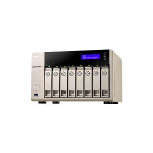 Qnap TVS-863+ - Serveur NAS 8 baies Gigabit Ethernet x2