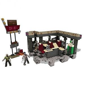 Mega Bloks CNG84 - Call Of Duty : Cod Restaurant Transit Zombies (400 pièces)