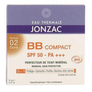 Eau Thermale Jonzac EAU THERMALE BB Compact Solaire 02 Doré