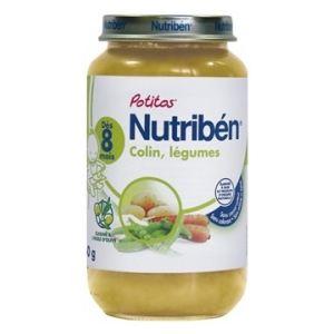 Nutribén Mon 1er Potito : Colin, légumes 250g - dès 8 mois