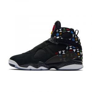 Nike Chaussure Air Jordan 8 Retro Q54 pour Homme - Noir - Taille 40.5 - Male