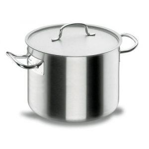 Lacor 50123 - Marmite Basse Chef en inox 24 cm