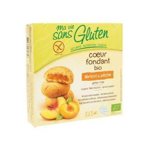 Ma vie sans gluten Coeurs fondants Bio abricot & pêche (200g)